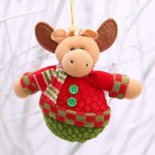 ouying1418 Weihnachtsbaumschmuck Puppe Anhänger Weihnachtstuch Kleine Anhänger