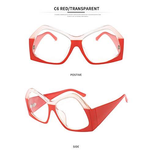 YLNJYJ Unisex Steampunk Modis Große Sonnenbrille Oculos Vintage Frauen Männer Markendesigner Sonnenbrille Hohe Qualität Uv400