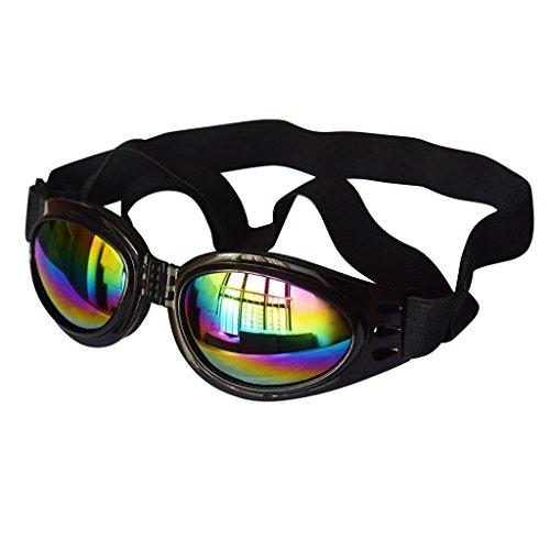 Sharplace Faltbar Haustier Hund schutzbrillen UV-Sonnenbrille, Schutz Sonnenbrille, Hundebrille