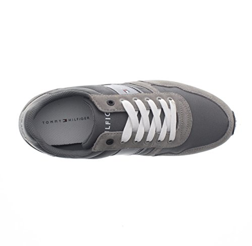 Tommy Hilfiger Herren Sm-Maxwell 3d Sneaker Grau