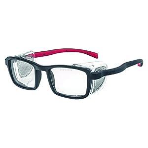 Pegaso 9R Gafas de Protección, Negro y Rojo, L