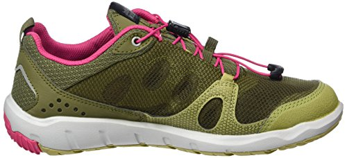 Jack Wolfskin Monterey Air Low W, Scarpe Sportive Outdoor Donna Multicolore (Light Khaki)