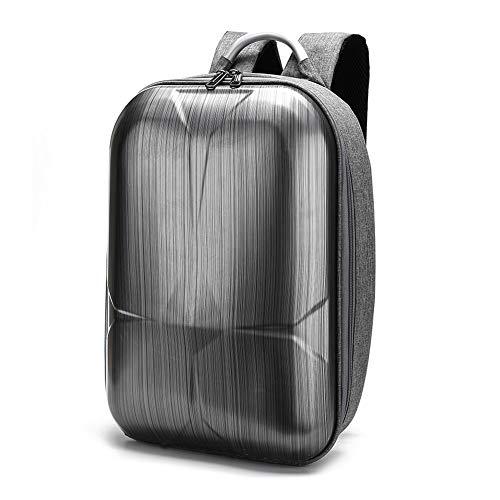 Schildkrötenpanzer Tasche für Xiaomi X8SE, Zwei-Wege-Reißverschluss-Rucksack, harte Schale wasserdichte RC Spielzeug Aufbewahrungskoffer Drohne Anti-Schock-Handtasche(Grau)