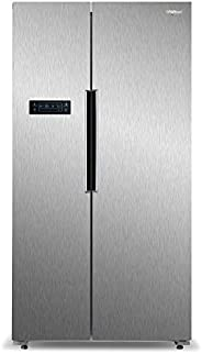 Whirlpool 537 L Inverter Frost-Free Side-by-Side Refrigerator (WS SBS 537, Steel)
