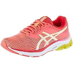 Asics Gel-Pulse 11, Zapatillas de Running para Mujer, Rosa (Laser Pink/Sour Yuzu 700), 41.5 EU