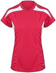 Velocity Jogging-T-Shirt mit kurzen Ärmeln, Oberteil für Damen