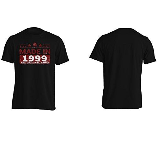 Realizzato nel 1999, tutte le parti originali novità divertente Uomo T-shirt jj95m Black
