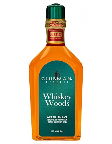 whiskey woods after shave 177ml