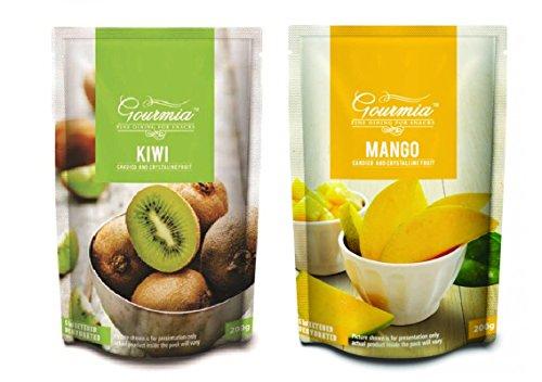 Gourmia Dried Kiwi & Mango Combo 400g (2 X 200g)