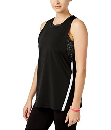 Fancy Jessica Simpson Jessica Simpson Womens The Warmup Layered Tank Top Jetblack XS (Womens Tee Layered)