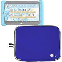 DURAGADGET Funda Azul De Neopreno Para Cefatronic Tablet Clan Pro/Kurio Tab 2 | Resistente Al Agua - Con Cierre De Cremallera