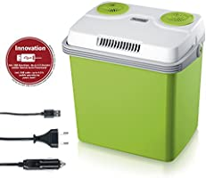 SEVERIN Electric Cool Box with a Cooling and Warming Function, 20 L, Incl. 2 Connections: 220 - 240 V / 12 V DC, KB...