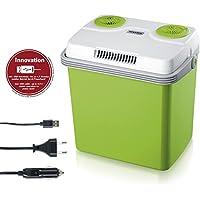 Severin KB 2923 Nevera Eléctrica Portatil con Cable USB, color verde, capacidad 28L