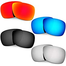 Hkuco Plus Mens Replacement Lenses For Oakley Inmate - 4 pair