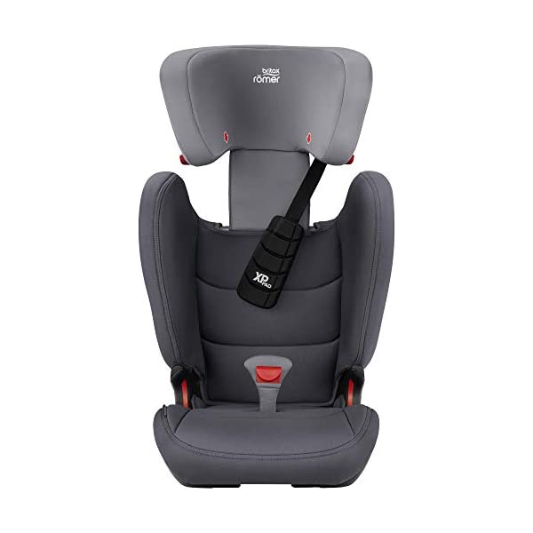 Britax Römer car seat 15-36 kg, KIDFIX Z-LINE Isofix Group 2/3, Storm Grey Britax Römer Made in germany Outstanding security concept - xp-pad and secureguard Ideal inside dimensions and seat - for extra comfort and excellent ergonomics 6