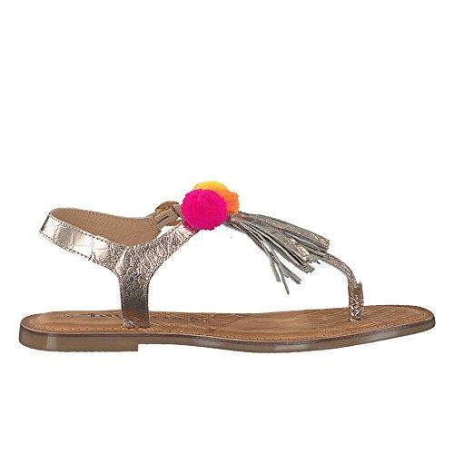 Tamaris1-1-28162-38/943 - Scarpe con cinturino alla caviglia Donna Gold (943 gold comb)