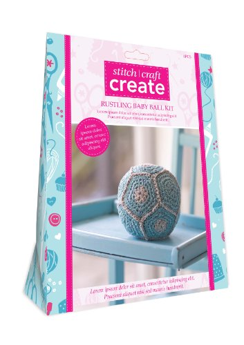 Stitch Craft Create Rustling Baby Ball Kit
