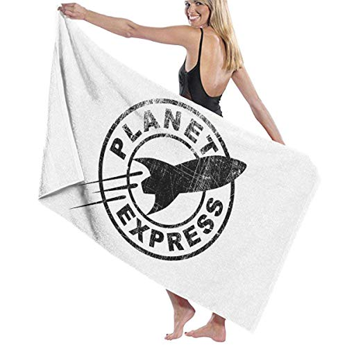 fgjfdjj Bath Towel, Planet Express Bath Towels Super Absorbent Beach Bathroom Towels for Gym Beach SWM Spa 31 x 51 inches -
