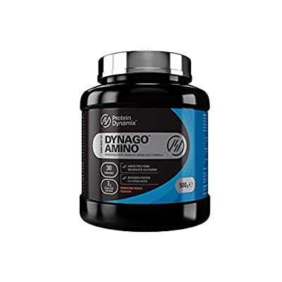 Protein Dynamix - DynaGo Amino BCAA Intra Workout Powder Drink Formula 500g Hawaiian Punch from Protein Dynamix