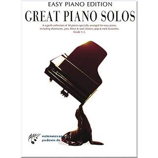Great Piano Solos - Easy Piano Edition - Klaviernoten [Musiknoten]