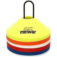 meiwar 20x Conos de Entrenamiento con Soporte y Bolsillo