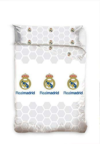 Real Madrid Juego Cama 2 Piezas. Funda Nórdica +