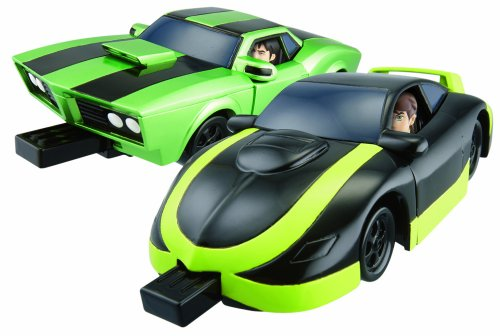 Image of Bandai Ben 10 2-in-1 Vehicle Crasher Playset [Import]