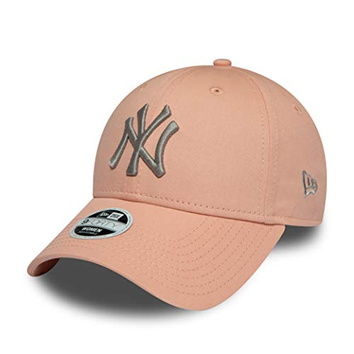 New Era New York Yankees MLB Cap New Era Verstellbar Baseball 9forty Damen Pink Grau - One-Size