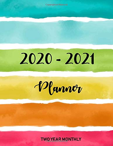 2020-2021 Two Year Monthly Planner: 24 Months Calendar, 2 Year Appointment Calendar, Business Planners, Agenda Schedule Organizer Logbook and Journal ... cover (2020-2021 Monthly planner, Band 5) Murphy Cover
