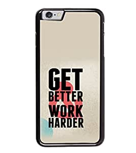 Printtech Cool quotes Success Shockproof Back Case Cover for Apple iphone 6/6s