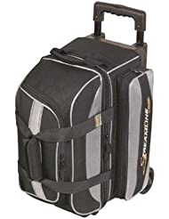 Streamline 2 Ball Roller Bowling Bag by Storm- Black/Silver by Storm Bowling Products
