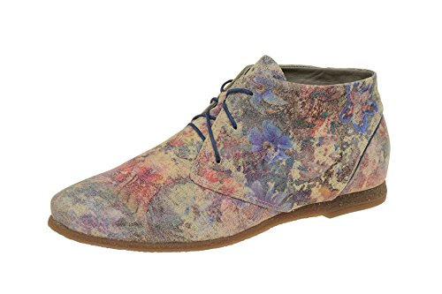 Think! Shua, Derby femme Taupe