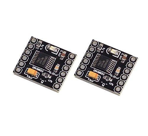 WINGONEER 2PCS DRV8833 1.5A double H Pont CC Gear Motor Driver contrôleur de carte pour le robot de voiture intelligente DIY