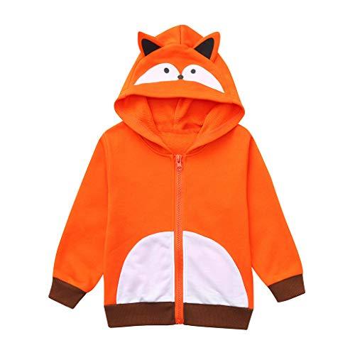 inder Langarm Stereo Cartoon Bär Tier Hoodie Pullover Jacke Baby Kind Baby Mädchen Cartoon Kapuzen Sweatshirt Jacke Niedlich Niedlich Beiläufig Lose ()