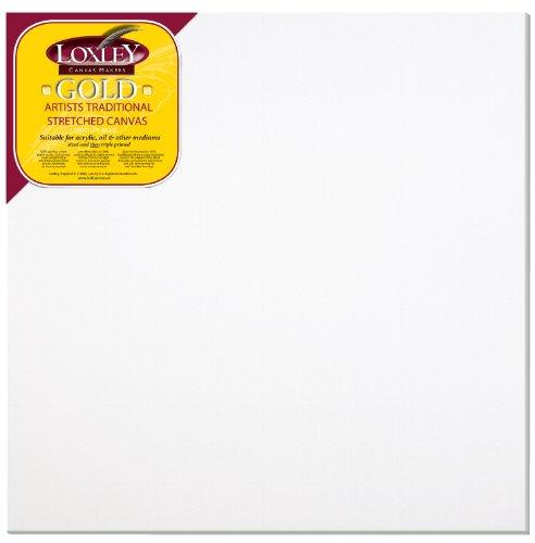 loxley-gold-tela-preparata-per-schizzi-quadrata-76-x-76-cm-18-mm-di-profondita