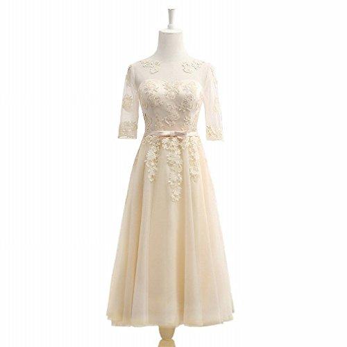 L Y Lange Kleider in der Kleidergruppe Brautjungfer Kleid Host Kleid Kostüme,Ein,XXS