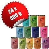 Catz Finefood 24 x 400 g Mix-Paket 12 Sorten Katzenfutter
