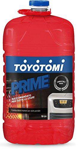 Toyotomi 2828547 Prime, Combustibile Universale per Stufe Portatili, Blu, 10 litri