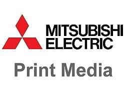 Mitsubishi CK-K76R 6 Paper Ink Set for CP-K60DW-S Photo Printer 4x6 640 Prints Roll