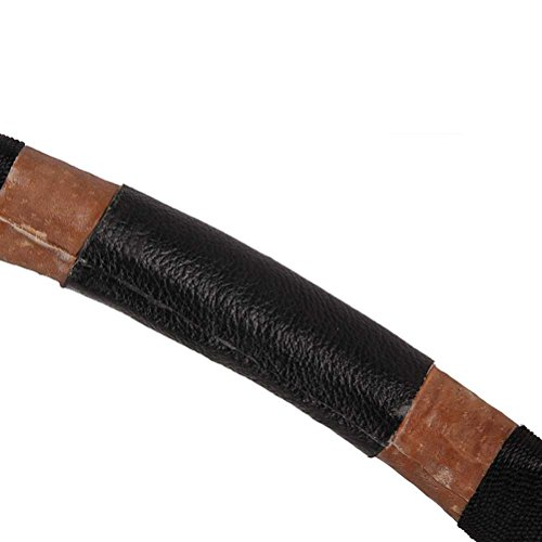 PG1ARCHERY Traditional Archery Recurve Longbow Basic Handmade Cobra Skin Horsebow Long Bow Left and Right Handed for Hunting Practice Targeting 60lbs