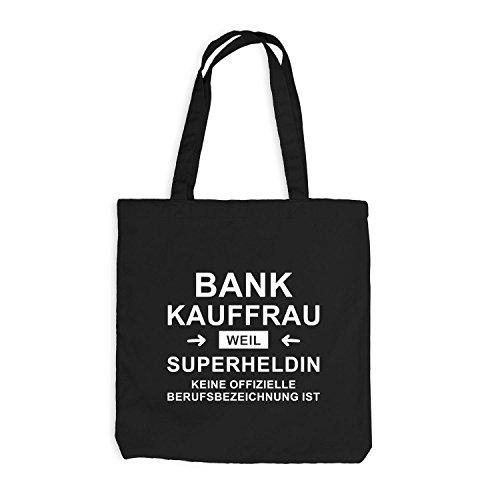 Borsa Di Iuta - Banchiere Super Eroina - Eroe Professione Nero