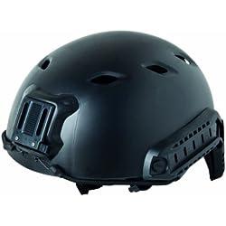 GSG - Casco Fast Base Jump Replica plástico ABS, color negro, 203907