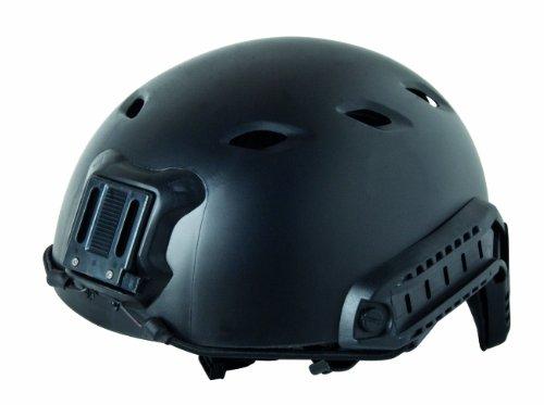 GSG Helm Fast Base Jump Peplica ABS Kunststoff, Schwarz, 203907