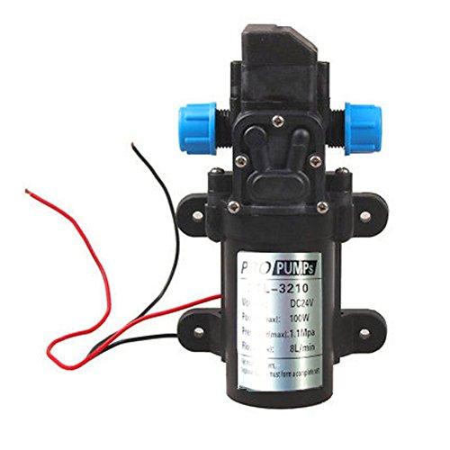 Preisvergleich Produktbild Labellevie DC24V 8L / m Wasserpumpe Automatische Hochdruck -Membran für Wohnmobile / Wohnwagen / Boot