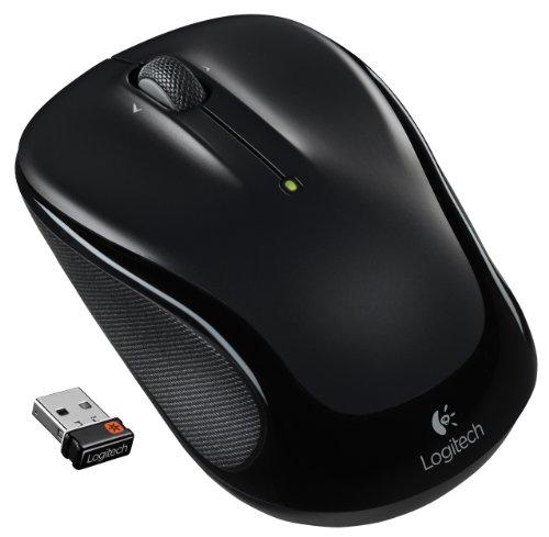 Logitech M325 Maus RF Wireless Optisch 1000 DPI Beidhändig - Mäuse (Beidhändig, Optisch, RF Wireless, 1000 DPI, Schwarz)