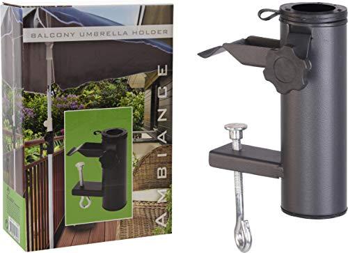 Trendkontor Balkon Sonnenschirmhalter Sonnenschirmständer/Klammer