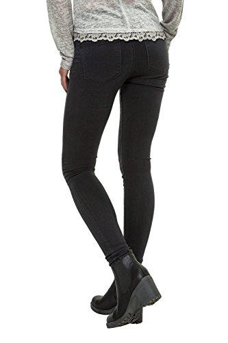 Only Damen Skinny Jeans Slim Fit Denim Grey Denim