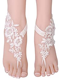 Amazon.it  sandali sposa  Gioielli ca3858ae5ba