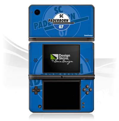 DeinDesign Skin kompatibel mit Nintendo DSi XL Aufkleber Sticker Folie SC Paderborn Fanartikel Scp07