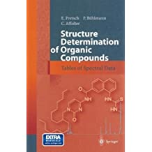Structure Determination of Organic Compounds: Tables of Spectral Data by E. Pretsch (2000-10-05)